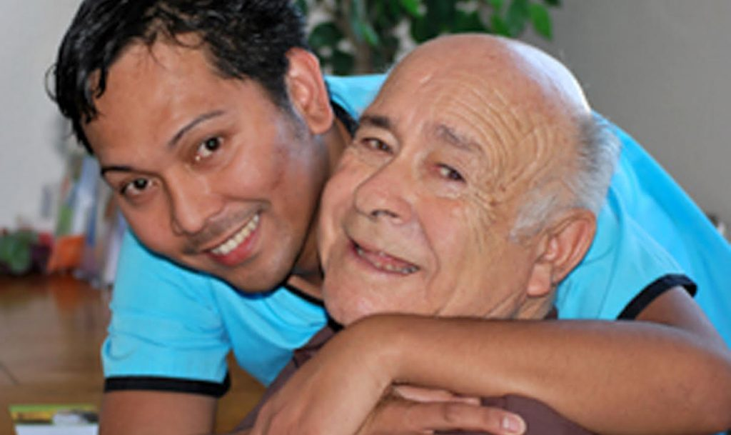 asian male caregiver san diego